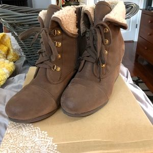 Altard state brown low boots
